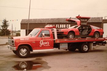 Vintage Car Towing In Puyallup
